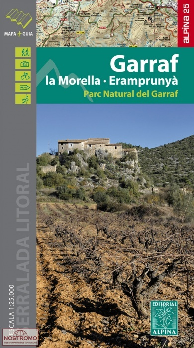 Garraf 1:25.000 9788480906937  Editorial Alpina Wandelkaarten Spanje  Wandelkaarten Catalonië, Barcelona
