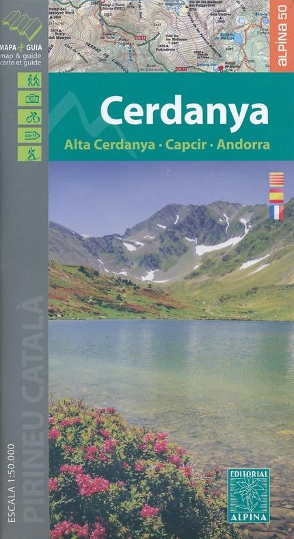 Cerdanya, Alta Cerdanya, Capcir, Andorra 1:50.000 9788480907002  Editorial Alpina Wandelkaarten Spaanse Pyreneeë  Wandelkaarten Spaanse Pyreneeën