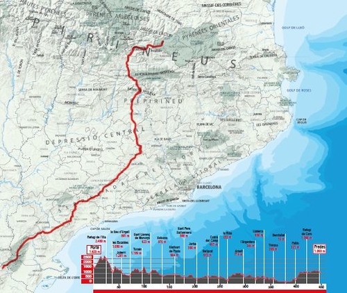 GR-7 Catalunya del nord al sud 9788490346105  Editorial Alpina   Meerdaagse wandelroutes, Wandelgidsen Catalonië