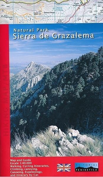 Wandelkaart Sierra de Grazalema 1:40.000 9788493795399  Penibetica   Wandelkaarten Andalusië
