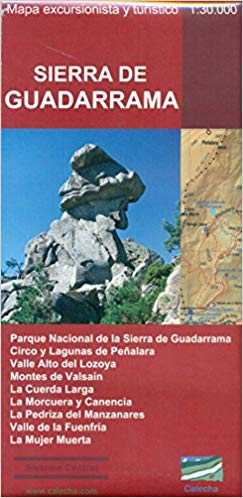 Sierra de Guadarrama wandelkaart 1:35.000 9788494347429  Calecha Ediciones Wandelkaarten Spanje  Wandelkaarten Castilië