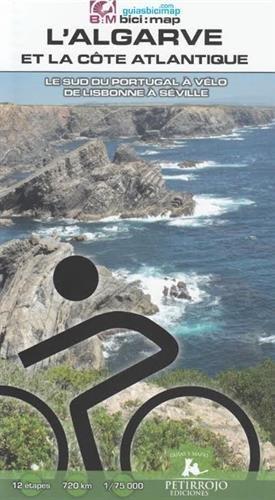 L'Algarve & la côte atlantique - le sud du Portugal à vélo 1/75 9788494668708  Petirrojo / Bici:map   Fietsgidsen Zuid-Portugal, Algarve