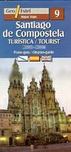 Santiago de Compostela  1:9.000 9788496295124  Geo Estel   Santiago de Compostela, Stadsplattegronden Santiago de Compostela