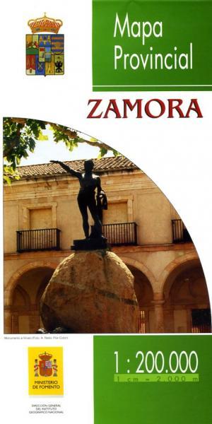 Prov.: Zamora 1:200.000 9788498108897  CNIG Provinciekaarten Spanje  Landkaarten en wegenkaarten Castilië