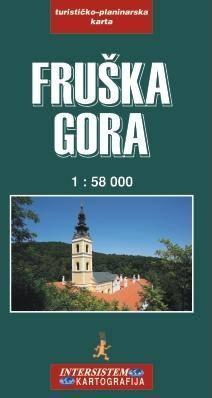 Fruska Gora | wandelkaart 1:58.000 9788677223625  Intersistem Kartografija   Wandelkaarten Servië, Bosnië-Hercegovina, Macedonië, Kosovo, Montenegro