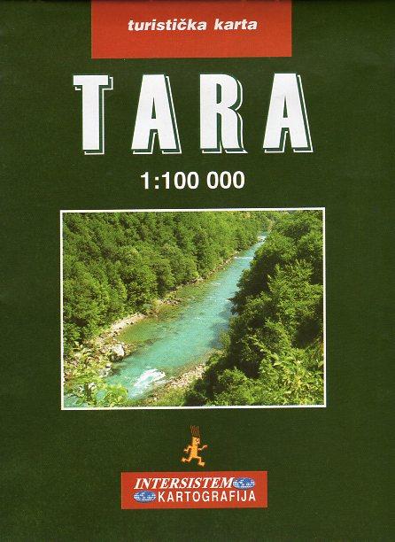 Tara 1:100.000 9788677224257  Intersistem Kartografija   Wandelkaarten Servië, Bosnië-Hercegovina, Macedonië, Kosovo, Montenegro