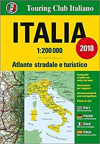 Italia 1/200.000 Atlante Stradale 9788836570874  TCI   Wegenatlassen Italië