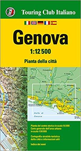 Genua, Genova 1:12.500 9788836571604  TCI Touring Club of Italy   Stadsplattegronden Genua, Ligurië