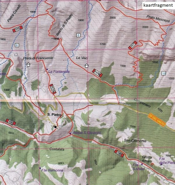 Gran Sasso d'Italia wandelkaart 1:25.000 9788888450568  Edizione di Lupo   Wandelkaarten Abruzzen en Molise