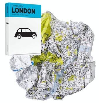 Crumpled City Map: London 9788890426421  Palomar Crumpled City  Stadsplattegronden Londen