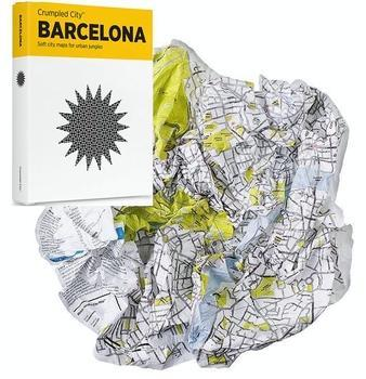 Crumpled City Map: Barcelona 9788890573231  Palomar Crumpled City  Stadsplattegronden Barcelona