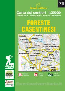 Foreste Casentinesi 1:25.000 9788894005271  Monti Editore   Wandelkaarten Bologna, Emilia-Romagna