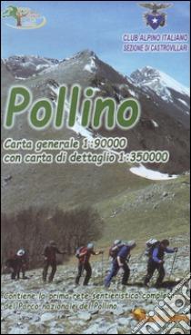Parco Nazionale del Pollino 1:35.000 / 90.000 wandelkaart 9788895109107  Acalandros   Wandelkaarten Calabrië