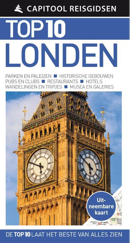 Capitool Top 10 Londen 9789000304134  Unieboek Capitool Top 10  Reisgidsen Londen