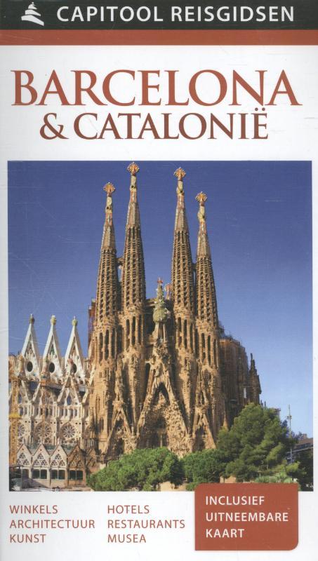 Capitool gids Barcelona en Catalonie 9789000341467  Unieboek Capitool Reisgidsen  Reisgidsen Barcelona, Catalonië