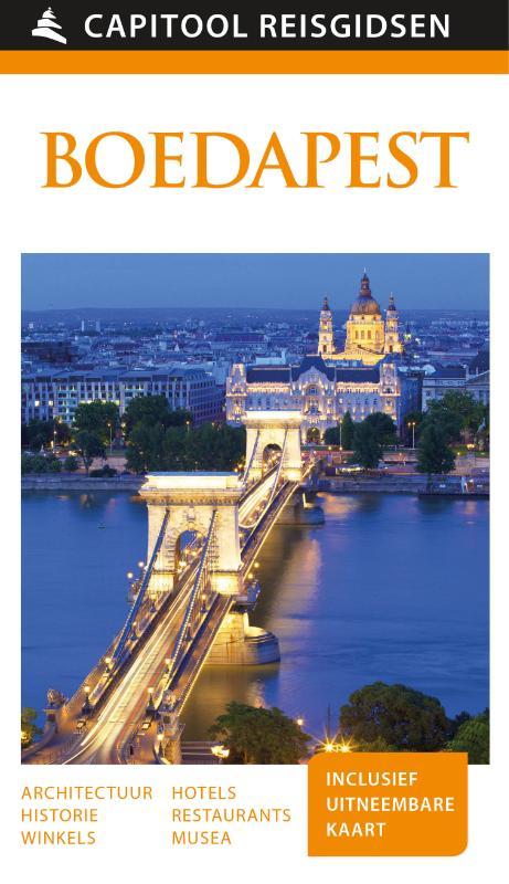 Capitool gids Boedapest 9789000341504  Unieboek Capitool Reisgidsen  Reisgidsen Hongarije