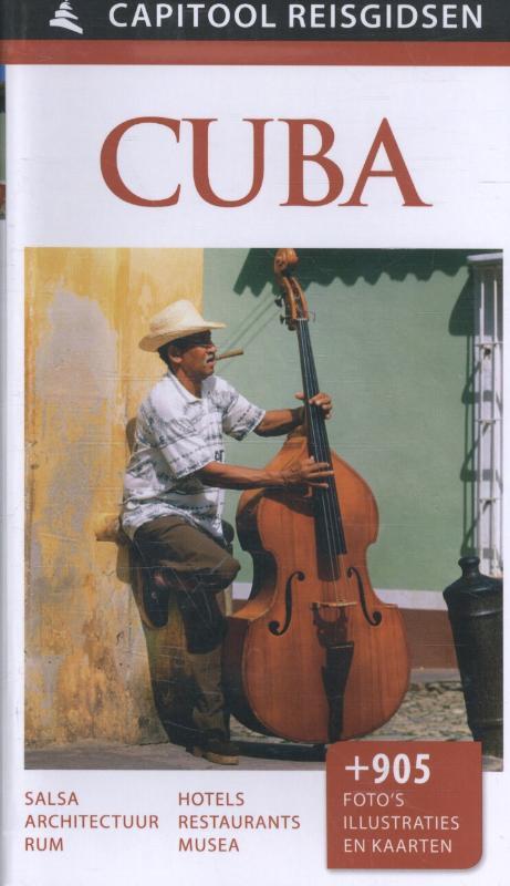 Capitool Cuba 9789000341610  Unieboek Capitool Reisgidsen  Reisgidsen Cuba