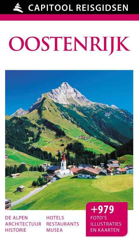 Capitool gids Oostenrijk 9789000342082  Unieboek Capitool Reisgidsen  Reisgidsen Oostenrijk