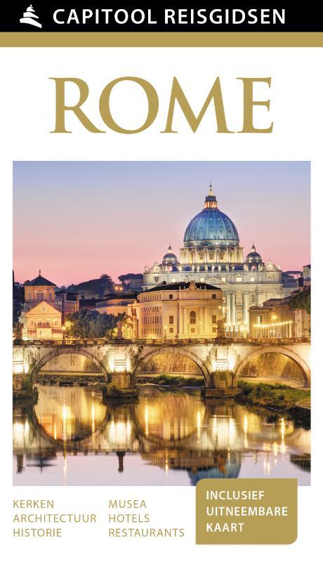 Capitool Rome 9789000342150  Unieboek Capitool Reisgidsen  Reisgidsen Rome, Lazio