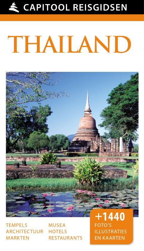 Capitool gids Thailand 9789000342259  Unieboek Capitool Reisgidsen  Reisgidsen Thailand
