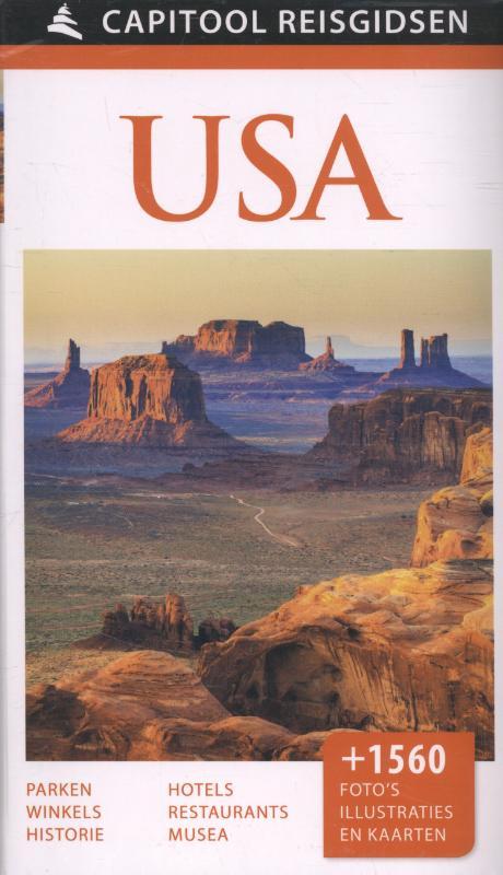 Capitool USA 9789000342297  Unieboek Capitool Reisgidsen  Reisgidsen Verenigde Staten