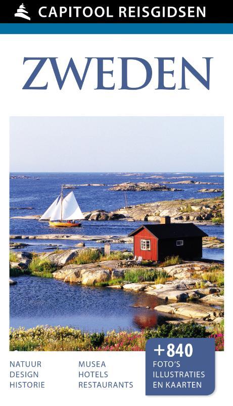 Capitool gids Zweden 9789000342389  Unieboek Capitool Reisgidsen  Reisgidsen Zweden