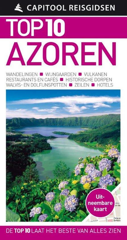 Capitool Top 10 Azoren 9789000354207  Unieboek Capitool Top 10  Reisgidsen Azoren