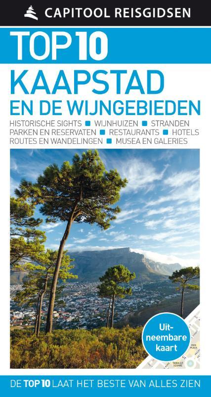 Capitool Top 10 Kaapstad en de wijngebieden 9789000354214  Unieboek Capitool Top 10  Reisgidsen, Wijnreisgidsen Zuid-Afrika