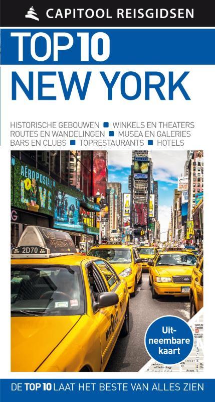 Capitool Top 10 New York 9789000354733  Unieboek Capitool Top 10  Reisgidsen New York, Pennsylvania, Washington DC