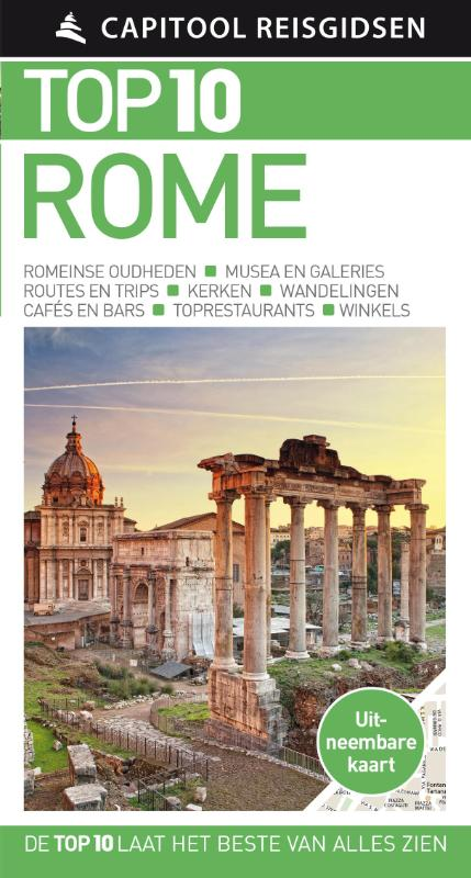 Capitool Top 10 Rome 9789000354757  Unieboek Capitool Top 10  Reisgidsen Rome, Lazio