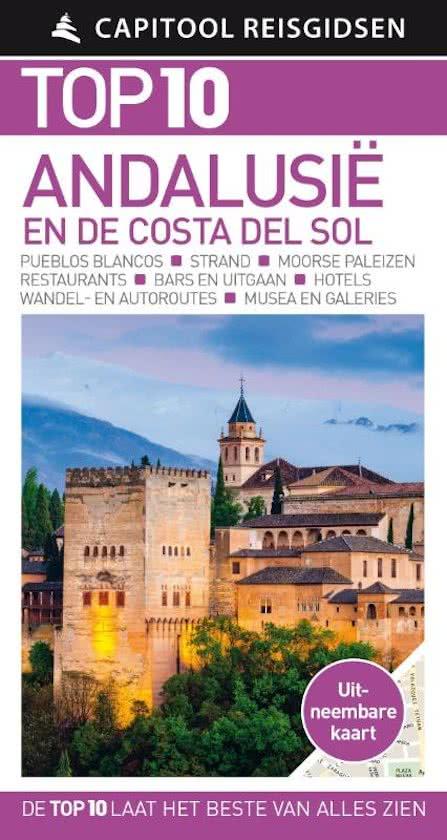 Capitool Top 10 Andalusië 9789000356591  Unieboek Capitool Top 10  Reisgidsen Andalusië