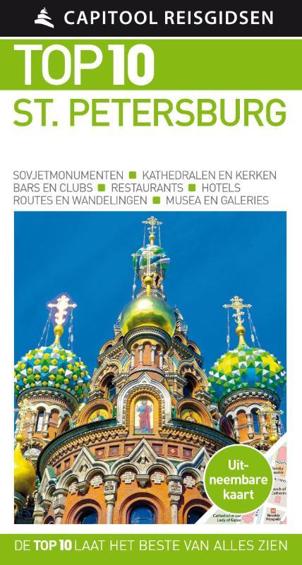 Capitool Top 10 Compact St..Petersburg 9789000356652  Unieboek Capitool Top 10  Reisgidsen Europees Rusland