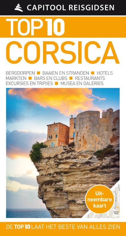 Capitool Top 10 Corsica 9789000356669  Unieboek Capitool Top 10  Reisgidsen Corsica
