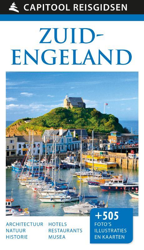 Capitool Zuid-Engeland 9789000357536  Unieboek Capitool Reisgidsen  Reisgidsen Cornwall, Devon, Somerset, Dorset, Kent, Sussex, Isle of Wight
