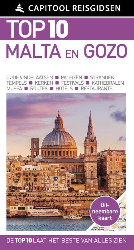 Capitool Top 10 Malta 9789000363384  Unieboek Capitool Top 10  Reisgidsen Malta