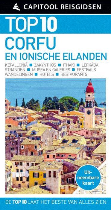 Capitool Top 10 Corfu en de Ionische Eilanden 9789000364855  Unieboek Capitool Top 10  Reisgidsen Ionische Eilanden (Korfoe, Lefkas, etc.)