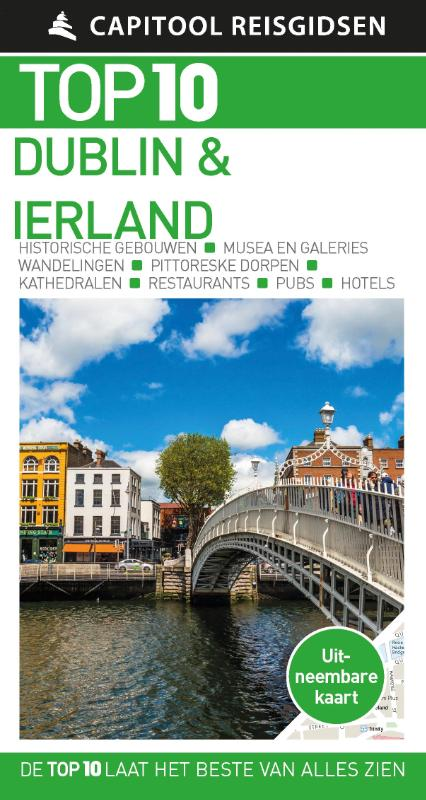 Capitool Top 10 Dublin & Ierland 9789000366903  Unieboek Capitool Top 10  Reisgidsen Dublin
