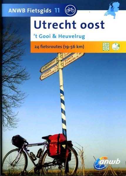 AG-11  Utrecht-Oost - ANWB fietsgids 9789018031794  ANWB ANWB fietsgidsen  Fietsgidsen Utrecht