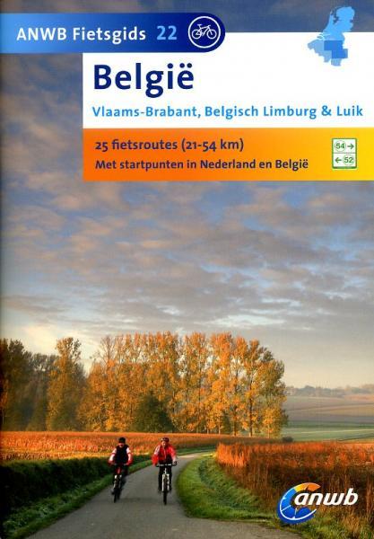 AG-22 Vlaams-Brabant, Limburg en Luik - ANWB fietsgids 9789018036379  ANWB ANWB fietsgidsen  Fietsgidsen België & Luxemburg