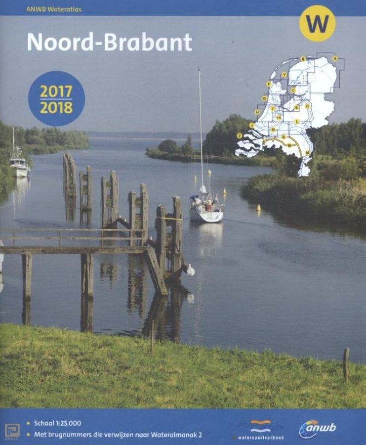 W Noord-Brabant 9789018040284  ANWB ANWB Waterkaarten  Watersportboeken Noord-Brabant