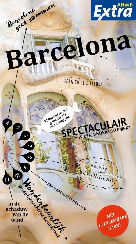 ANWB Extra reisgids Barcelona 9789018041014  ANWB ANWB Extra reisgidsjes  Reisgidsen Barcelona