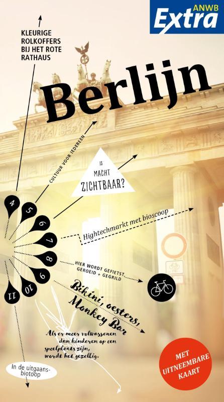 ANWB Extra reisgids Berlijn 9789018041021  ANWB ANWB Extra reisgidsjes  Reisgidsen Berlijn