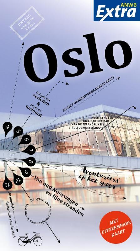 ANWB Extra reisgids Oslo 9789018041045  ANWB ANWB Extra reisgidsjes  Reisgidsen Zuid-Noorwegen
