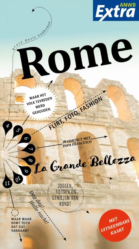 ANWB Extra reisgids Rome 9789018041052  ANWB ANWB Extra reisgidsjes  Reisgidsen Rome, Lazio