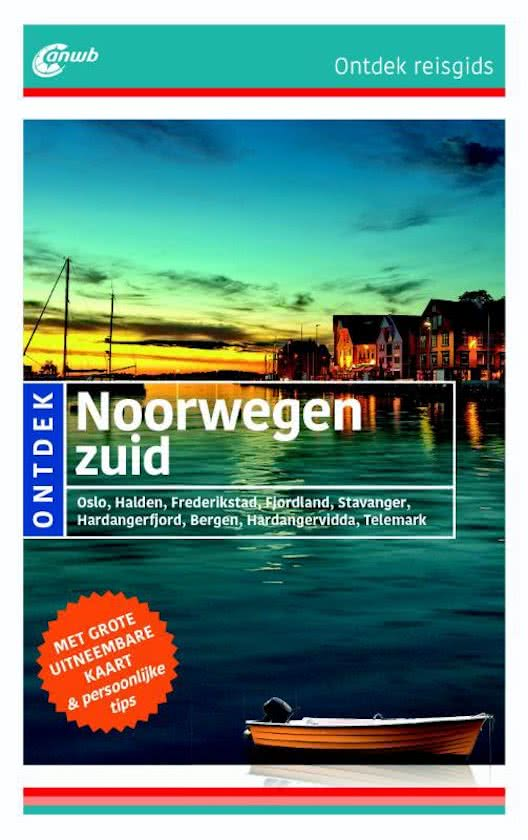 ANWB reisgids Ontdek Zuid-Noorwegen 9789018041328  ANWB ANWB Ontdek gidsen  Reisgidsen Zuid-Noorwegen