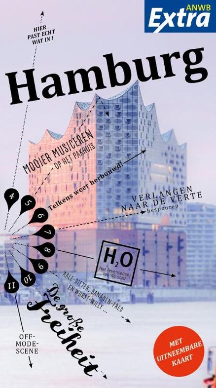 ANWB Extra reisgids Hamburg 9789018041410  ANWB ANWB Extra reisgidsjes  Reisgidsen Hamburg
