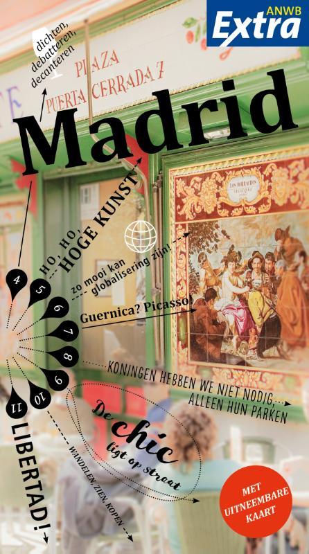 ANWB Extra reisgids Madrid 9789018041441  ANWB ANWB Extra reisgidsjes  Reisgidsen Madrid