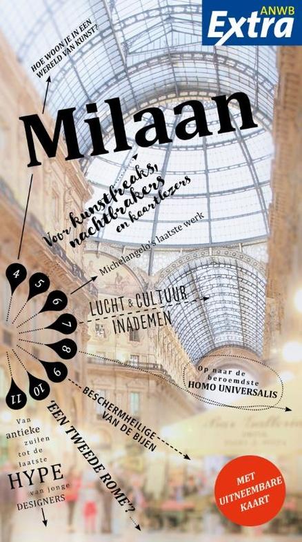 ANWB Extra reisgids Milaan 9789018041458  ANWB ANWB Extra reisgidsjes  Reisgidsen Milaan, Lombardije, Italiaanse Meren