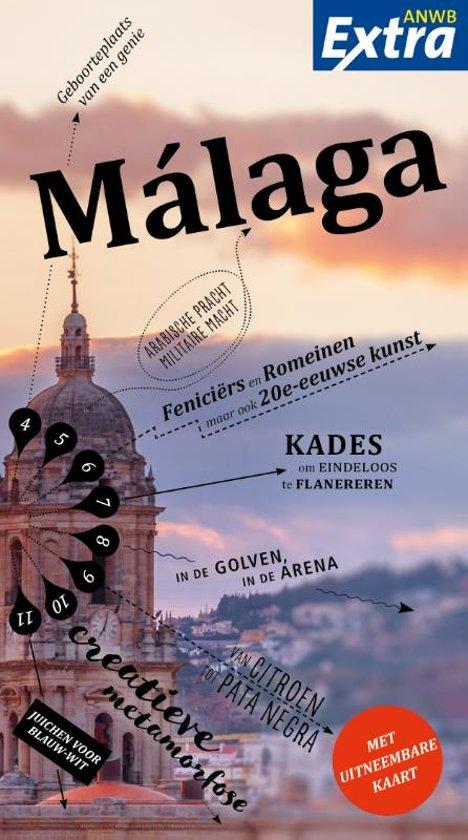 ANWB Extra reisgids Malaga 9789018042134  ANWB ANWB Extra reisgidsjes  Reisgidsen Malaga