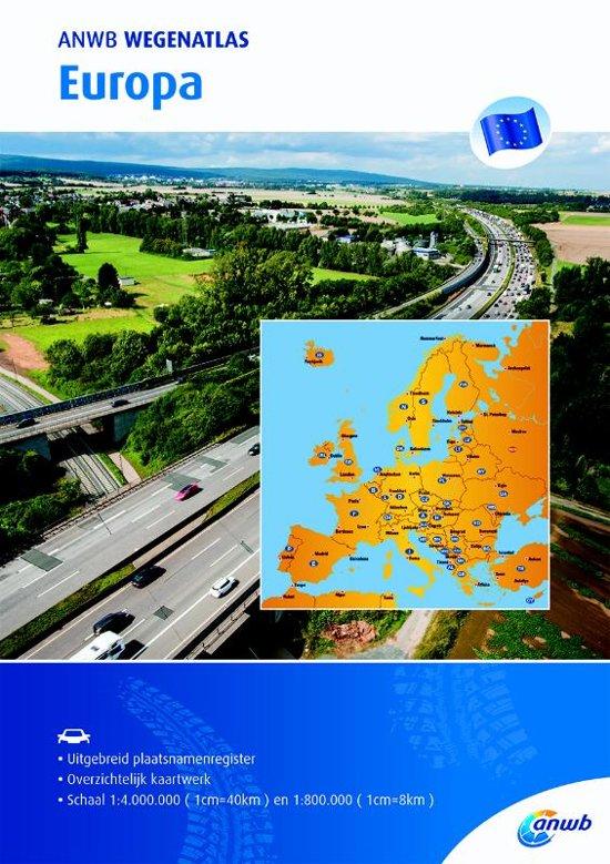 ANWB Wegenatlas Europa 1/900.000 9789018043070  ANWB ANWB Wegenatlassen  Wegenatlassen Europa